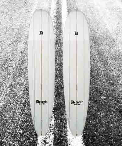 Detroit Surf Co. Surfboards
