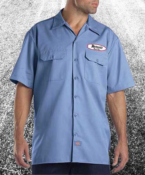 Detroit Surf Co. Mens Work Shirts