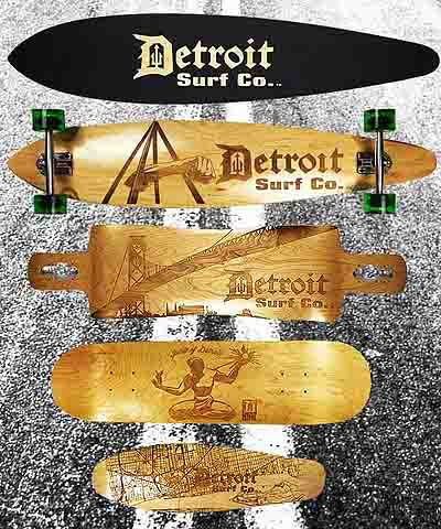 Detroit Surf Co. Skateboards