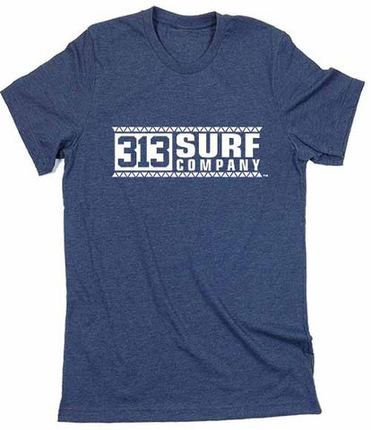 313 Surf Co. Warrior version logo T-Shirt