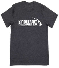 Detroit Surf Co. Michigan-Hawaii logo T-Shirt