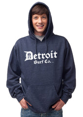 Detroit Surf Co. Classic logo Premium Hooded Sweatshirt - Detroit Surf Co. - 3