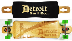 Corktown Drop Through Longboard Deck - Detroit Surf Co. - 1
