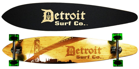 Corktown Pintail Longboard - Detroit Surf Co. - 1