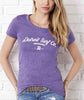Detroit Surf Wear Ladies Tri-Blend Crew - Detroit Surf Co. - 2