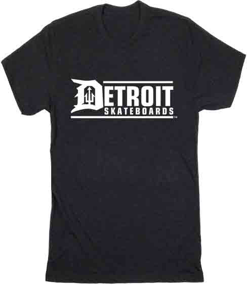 Detroit Skateboards logo T-Shirt