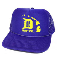 Michigan-Hawaii Trucker Cap