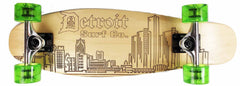 Detroit Skyline Mini Cruiser