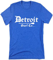 Detroit Surf Co. Paddle logo T-Shirt