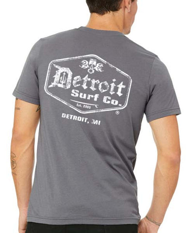Detroit Surf Co. vintage surf logo T-Shirt