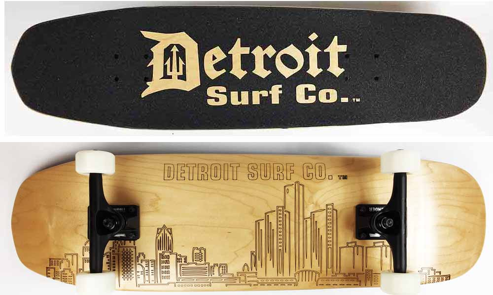 Shovel Nose Skyline Skateboard