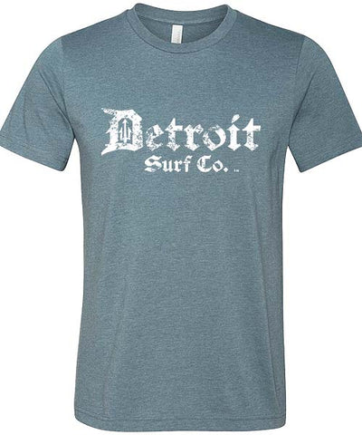 Detroit Surf Co. Classic Distressed logo T-Shirt - Detroit Surf Co. - 1