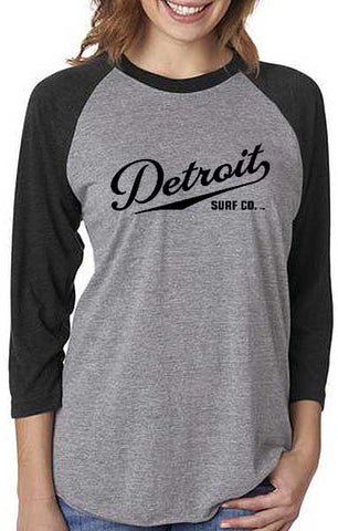 Unisex Three-Quarter Sleeve Baseball Raglan Tee