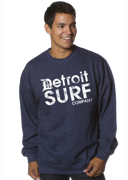 Detroit Surf Company Crew Sweatshirt - Detroit Surf Co. - 1