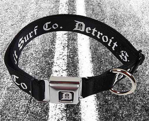 Seatbelt Buckle Dog Collar - Detroit Surf Co.