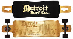 Detroit Skyline Drop Through Longboard
