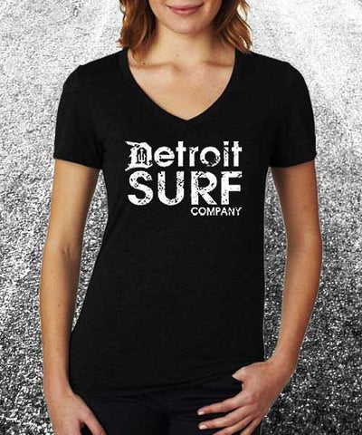 Ladies DSC logo standard V - Detroit Surf Co.