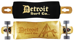 Joe Louis Fist Drop Through Longboard - Detroit Surf Co. - 1