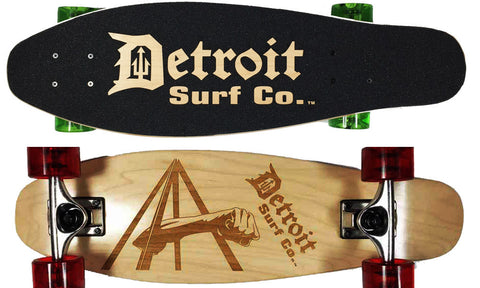 Joe Louis Fist Mini Cruiser - Detroit Surf Co. - 1