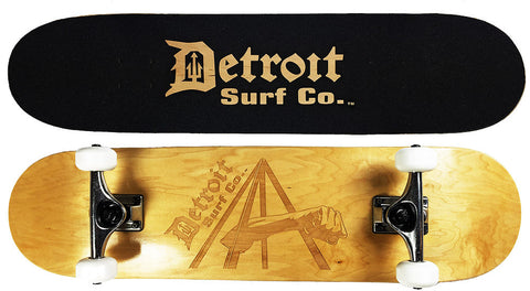 Joe Louis Fist Skateboard - Detroit Surf Co. - 1