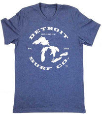 Great Lakes logo T-Shirt - Detroit Surf Co. - 3