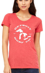 Ladies Great Lakes Tee - Detroit Surf Co. - 5