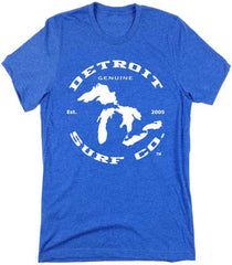 Great Lakes logo T-Shirt - Detroit Surf Co. - 4