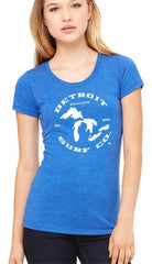 Ladies Great Lakes Tee - Detroit Surf Co. - 6