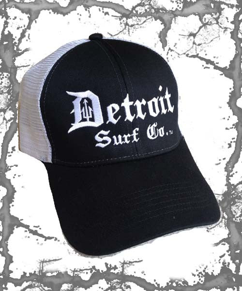Embroidered Trucker Cap - Detroit Surf Co.