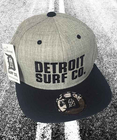 Embroidered DSC Snapback Cap - Detroit Surf Co.
