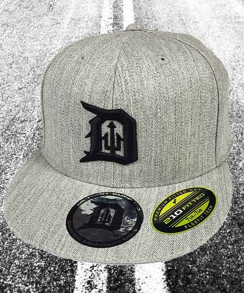 Fitted Trident D Cap - Detroit Surf Co.
