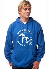 Detroit Surf Co. Great Lakes logo Premium Hooded Sweatshirt - Detroit Surf Co. - 2