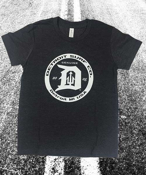 Kids Circle Logo T-Shirt - Detroit Surf Co.