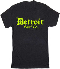Detroit Surf Co. Hi-Vis logo T-Shirt - Detroit Surf Co. - 1