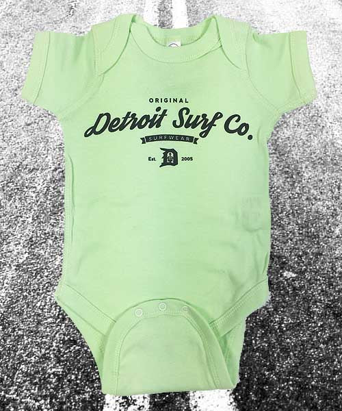 Baby One Piece Detroit Surf Co.