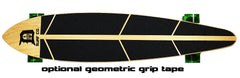 Detroit Street Map Pintail Longboard - Detroit Surf Co. - 3