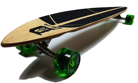 Spirit of Detroit Pintail Longboard - Detroit Surf Co. - 1