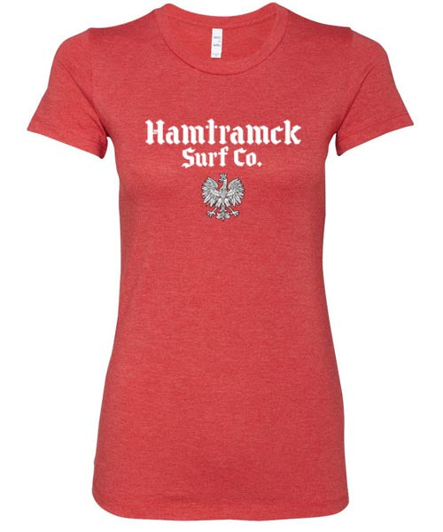 Hamtramck Surf Co. Ladies T