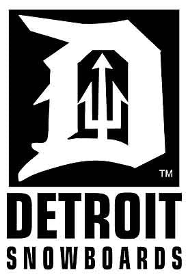 Detroit Snowboards Vinyl Sticker - Detroit Surf Co.