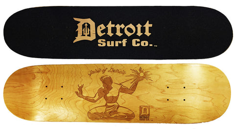 Spirit of Detroit Skateboard Deck (Deck Only) - Detroit Surf Co.