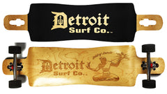 Spirit of Detroit Drop Through Longboard - Detroit Surf Co. - 1