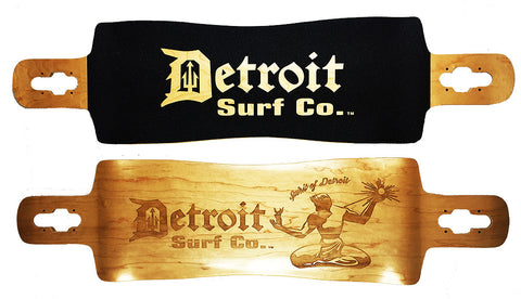 Spirit of Detroit Drop Through Longboard Deck (Deck Only) - Detroit Surf Co. - 1