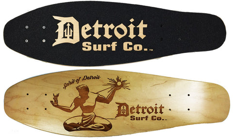Spirit of Detroit Mini Cruiser Deck (Deck Only) - Detroit Surf Co.
