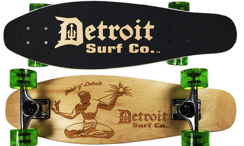 Spirit of Detroit Mini Cruiser - Detroit Surf Co. - 1