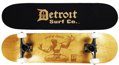 Spirit of Detroit Skateboard - Detroit Surf Co. - 1