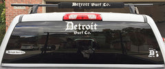 Detroit Surf Co. Die Cut Vehicle Sticker