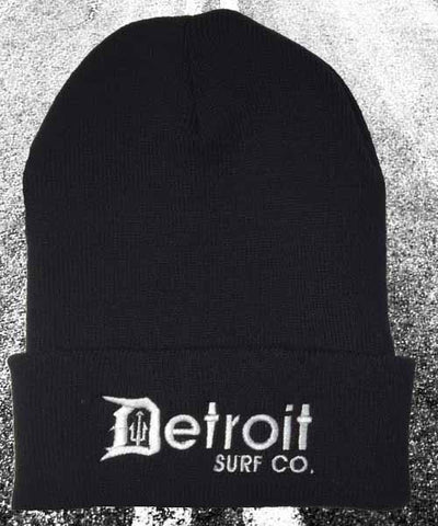 Detroit Surf Co. Cuffed Beanie Cap - Detroit Surf Co.