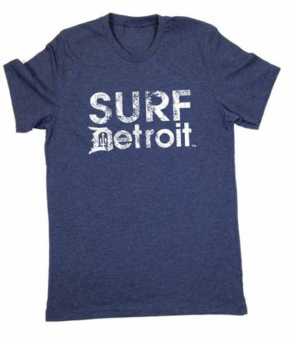 Surf Detroit logo T-Shirt - Detroit Surf Co. - 1