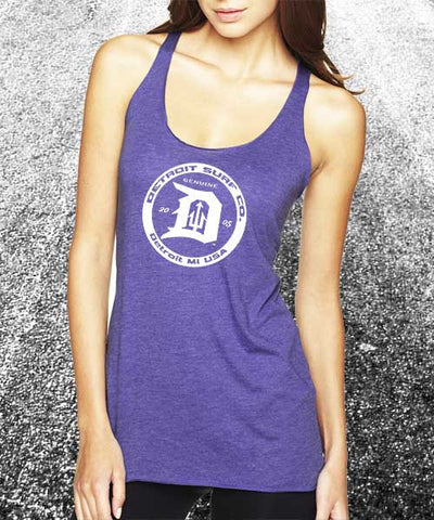 Tri-blend Circle Logo Tank - Detroit Surf Co. - 1