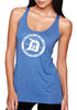 Tri-blend Circle Logo Tank - Detroit Surf Co. - 2